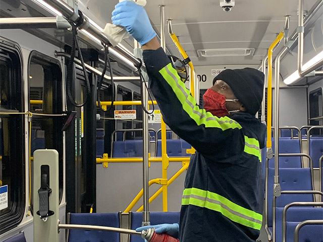 Bus Mask Cleaner