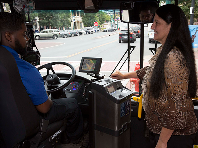 Electronic fare boxes installed on all CDTA buses