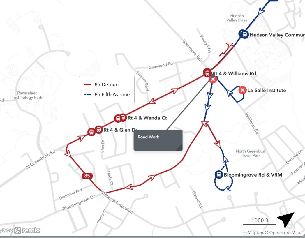 85 Bloomingrove Road -  Road Work