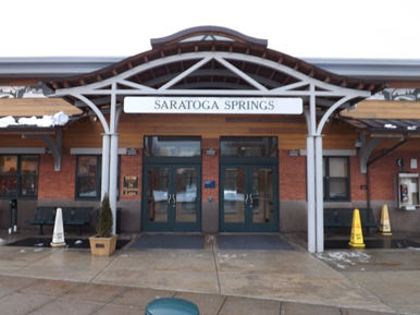 Saratoga Rail Station