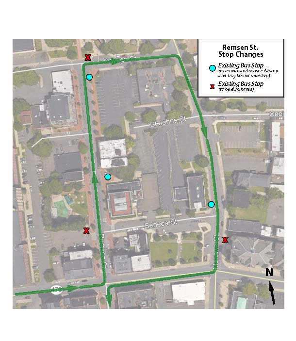 The City of Cohoes will shift Remsen St. to one-way