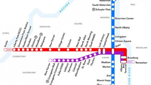 40 miles of BRT