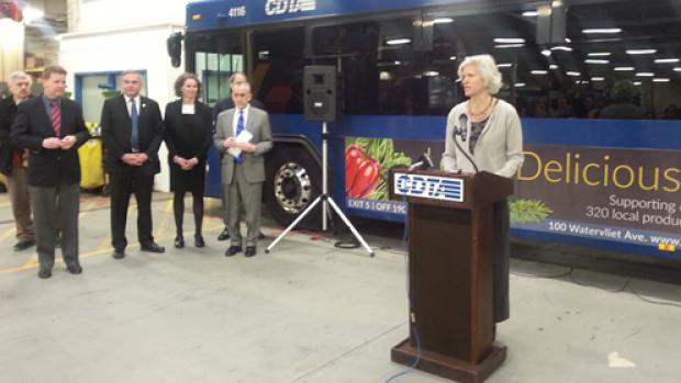 CDTA Rally Event for Transit Funding
