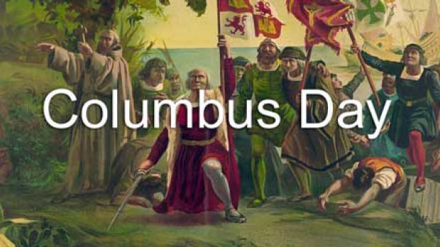 Columbus Day Service