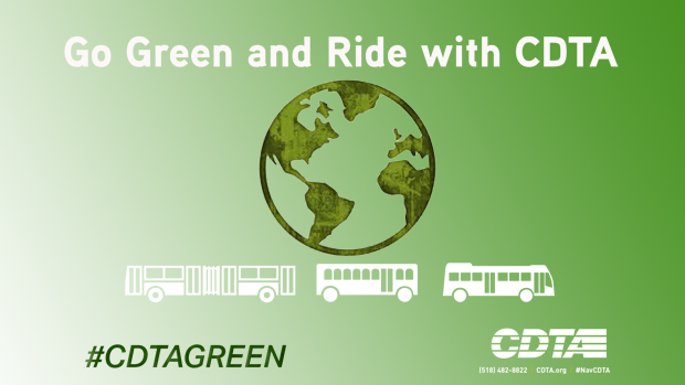CDTA is Living Earth Day Every Day