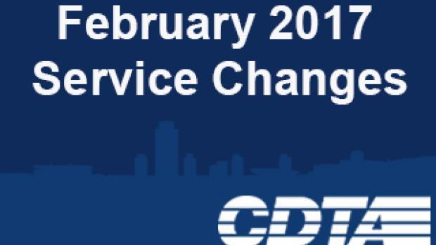 February Service Changes