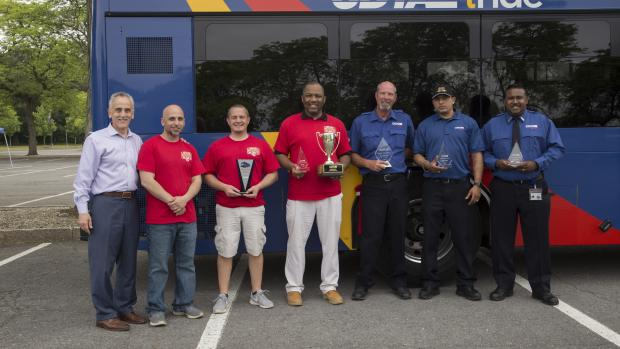 CDTA Announces Top Finishers at Annual Bus Roadeo