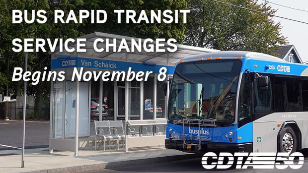Service Changes Begin November 8