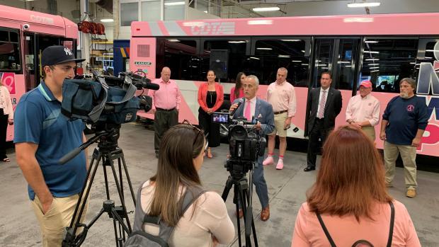 Pink Bus Kick Off