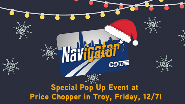 Special Pop Up Event at Price Chopper in Troy, Friday, 12/7!