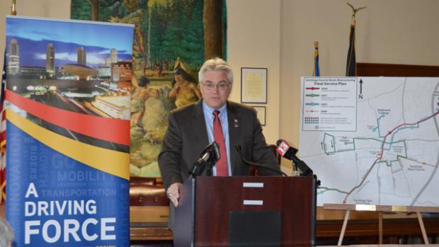 CDTA Chairman Dave Stackrow