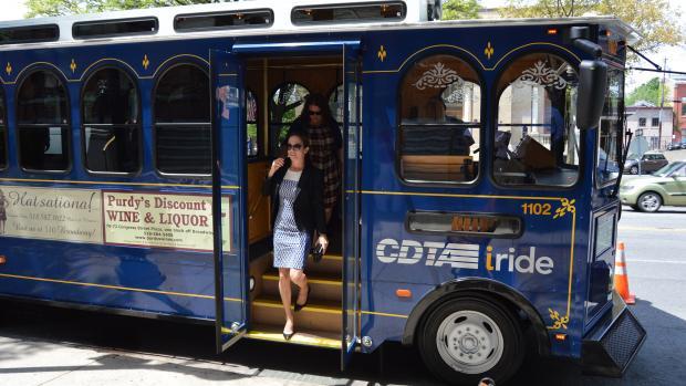 Saratoga Summer Trolley Kicks-Off